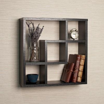 Geometric Square Wall Shelf : Target