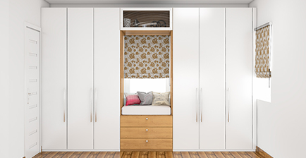 Design| Customize| Buy Bedroom Wardrobes Online at Most Competitive