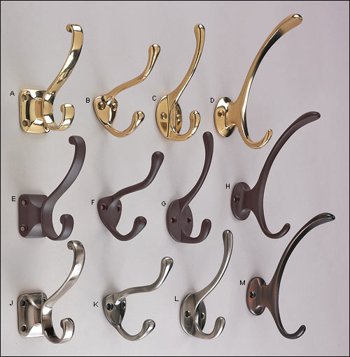 Traditional Coat Hooks - Lee Valley Tools