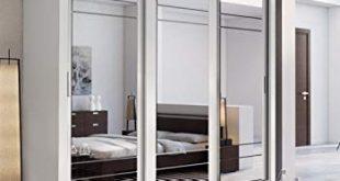 Brand New Modern Bedroom Mirror Sliding Door Wardrobe ARTI 2 in