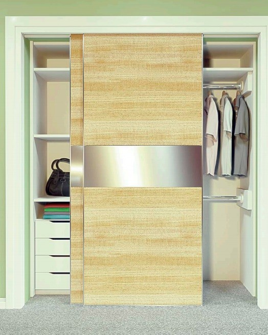 Brio Wardrobe Double WD50+ Sliding System for 50KG Top Hung Wardrobe
