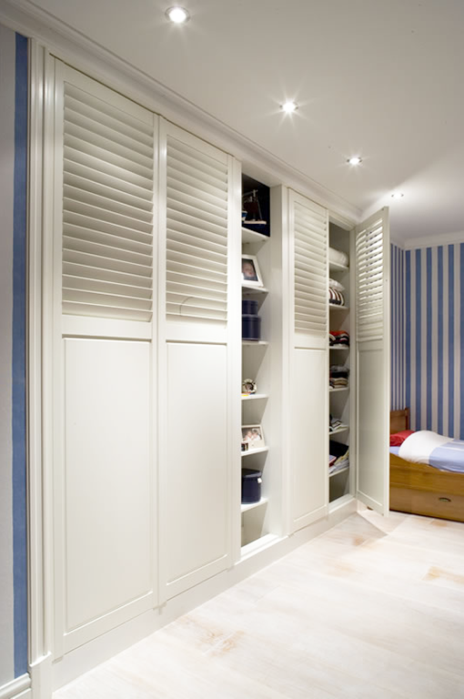 Solid Panel Shutters | Build It | Doors, Closet doors, Shutters