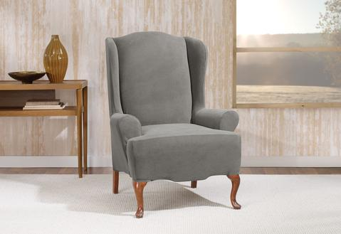 Wingback Chair Slipcovers | Furniture Covers | SureFit