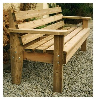 garden wooden benches - Google Search | Furniture plans | Pinterest