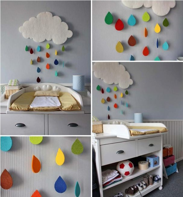 17 Gentle ideas for DIY Nursery decor | Baby R | Pinterest | Diy