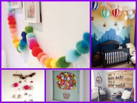 25 Cute DIY Baby Room Decorating Ideas - Baby Nursery Decor - YouTube