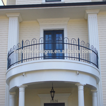 Modern Iron Balcony Design,Modern Design For Balcony Railing,Modern