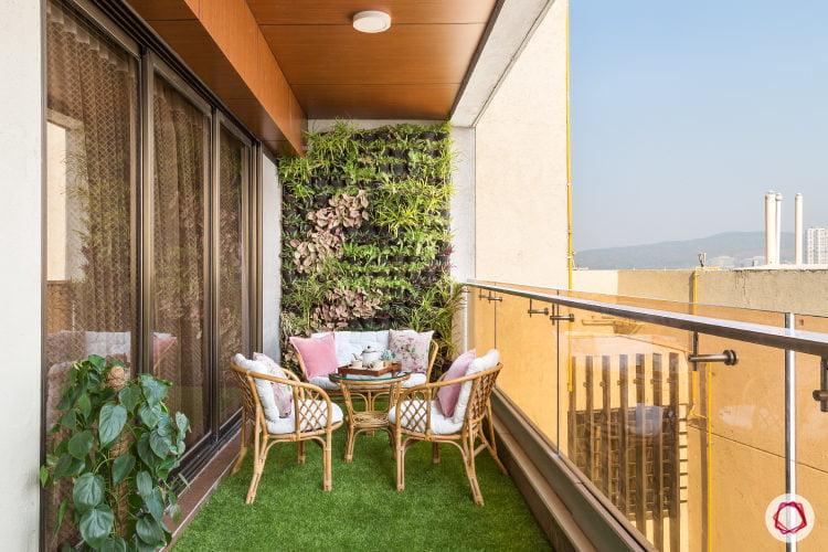 Guidebook balcony design
