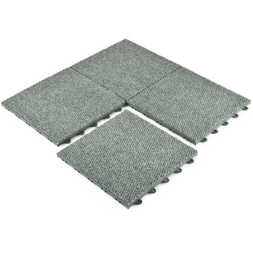 Basement Carpet Tiles - Raised Waterproof Carpet Tile