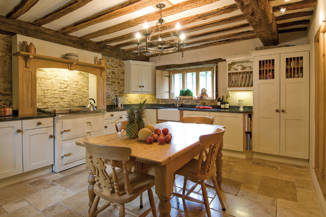 Country style – kitchens in a fashion trend