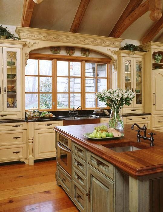 20 Ways to Create a French Country Kitchen | Dream kitchen