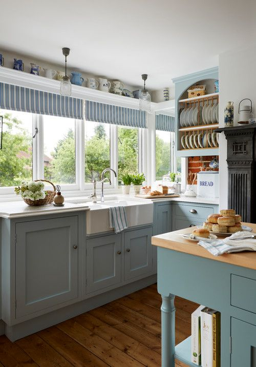 Country Style Rooms for a Cozy Home   Kitchen Interior   Country