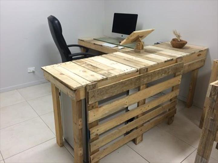 Pallet Office Furniture - DIY | Pallet Furniture