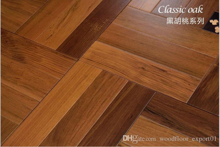 2019 Walnut Wood Timber Flooring Parquet Floor Hardwood Flooring