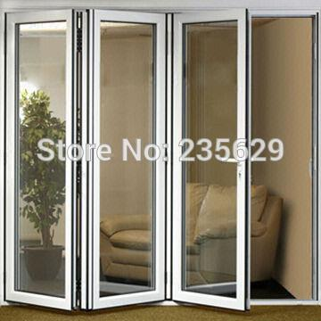 Aluminium Bi folding Exterior Doors, Aluminum Folding Door Systems