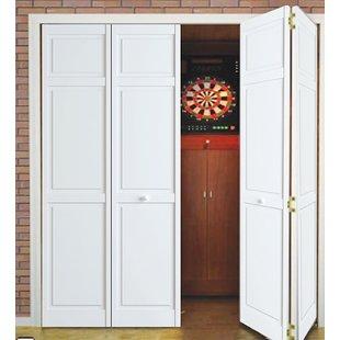 Bi-Fold Doors You'll Love   Wayfair