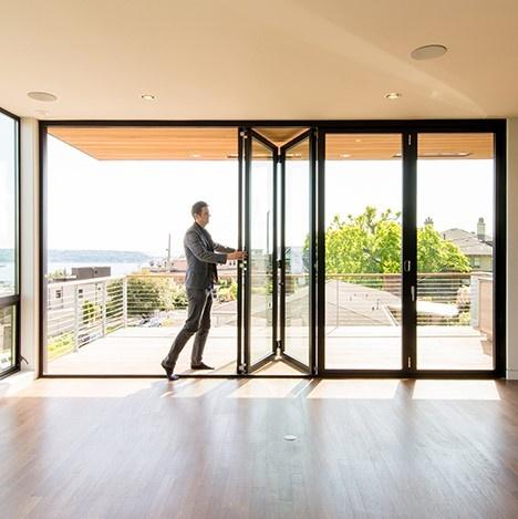 Aluminum Folding Door - Southwest Building Products