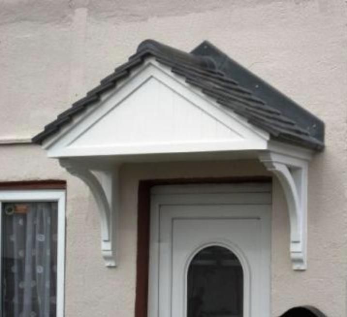Front Door Canopy 1