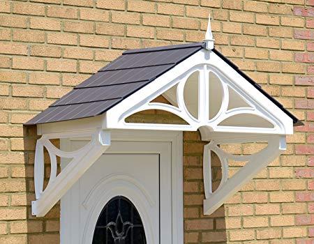 The Hilton Door Canopy, Storm Porch, Rain Shelter, Front Door Cover