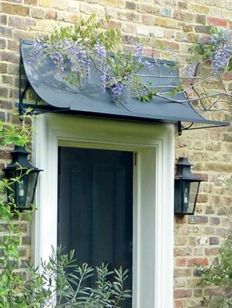 Door canopy u2013 an attractive feature for your home - Garden Requisites
