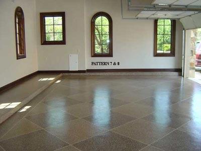 Garage Floor Coating | Armor Chip Granite Finish Epoxy Kit