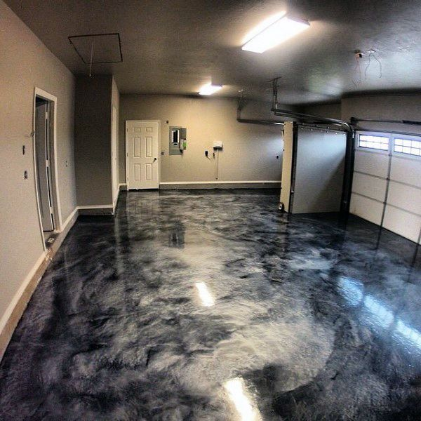 90 Garage Flooring Ideas For Men - Paint, Tiles And Epoxy Coatings