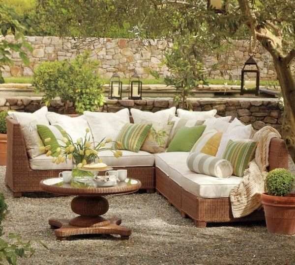 Garden furniture made of polyrattan u2013 12 beautiful ideas for outdoor