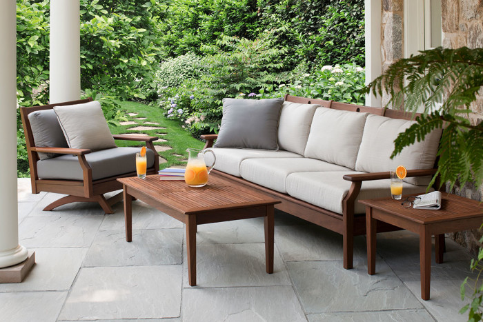 Hot Outdoor Furniture Trends For 2018 - Outside in Style