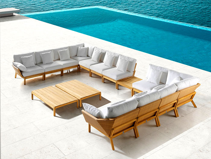 New Collection of Outdoor Furniture by Edeestudio - InteriorZine