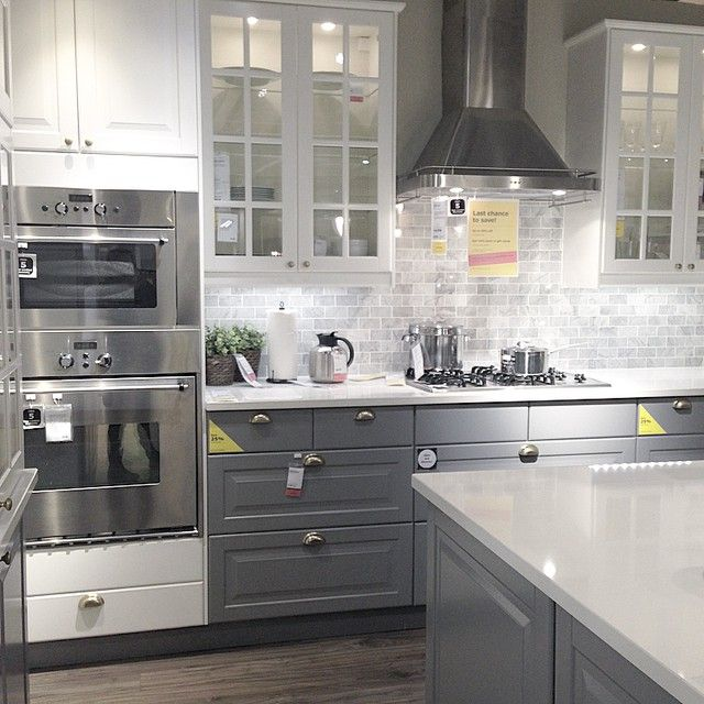 Loving this @ikea showroom kitchen u2022 #ikea @ikeacanada | Ikea
