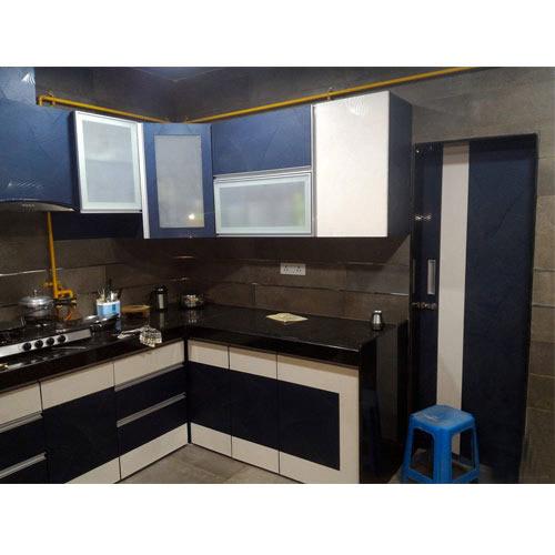 PVC Lepotica The Kitchen Modular Kitchen Furniture, Rs 2600 /square