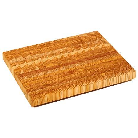Amazon.com: Larch Wood Canada End Grain Medium Cutting Board
