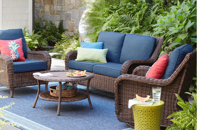Lounge Garden Furniture Savillefurniture