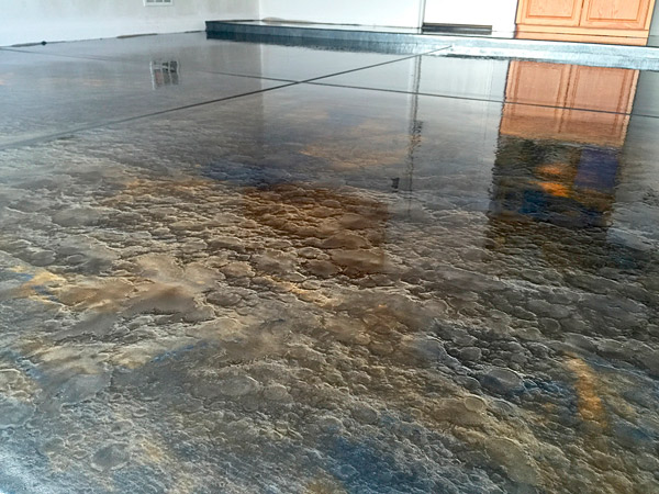 Metallic Epoxy Floors: How to Install, Control and Manipulate them