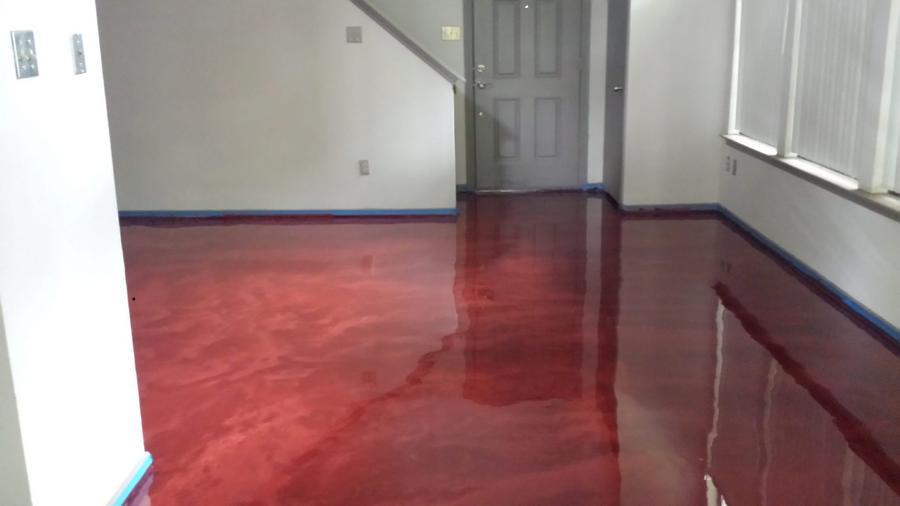 Metallic flooring – savillefurniture