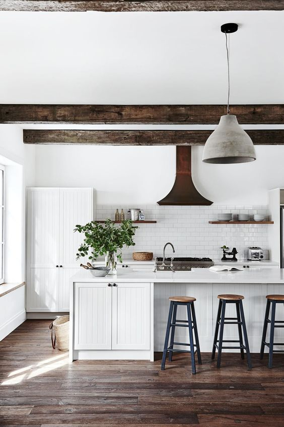 Elements of a Great Modern Country KitchenDecorated Life