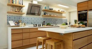 20 Cool Modern Wooden Kitchen Designs | Kitchen | Kitchen, Kitchen