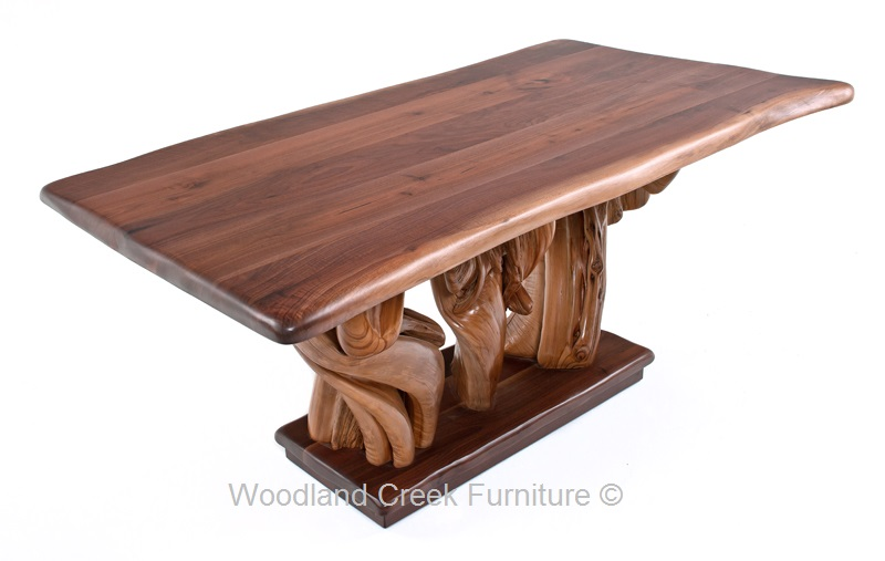 Natural Wood Furniture | Natural Wood Desks, Benches, & Coffee Tables