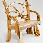 Sustainably furnished with natural wood furniture