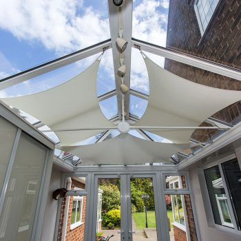 Conservatory Sails | Conservatory Sail Blinds | InShade