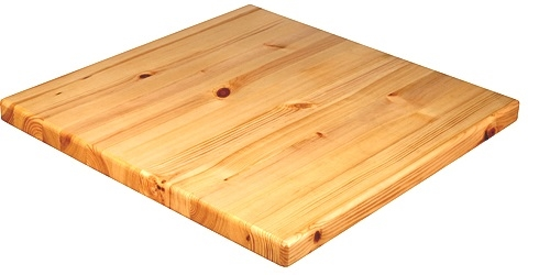 Pine Wood Plank Restaurant Table Tops