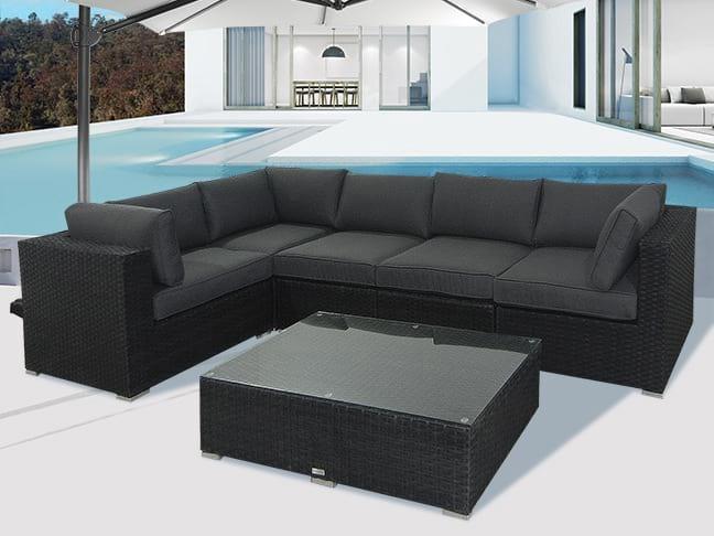 CosyLifeStyle Poly rattan garden furniture - Poly rattan furniture