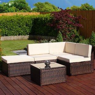Brown Rattan Garden Furniture | Wayfair.co.uk