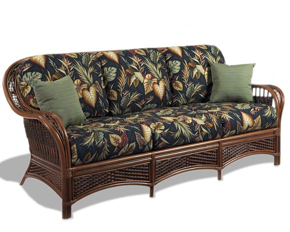 Rattan Sofa - Tigre Bay | Wicker Paradise