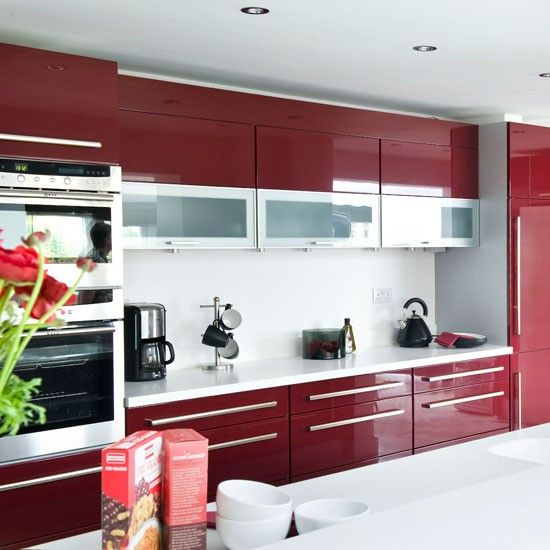 Red Kitchens 10