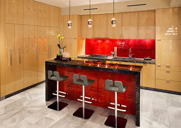 Red Kitchens 14