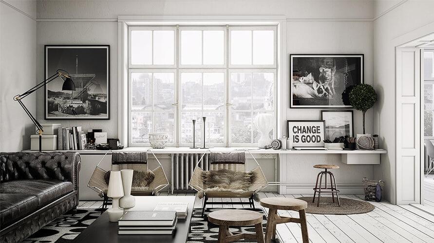 8 Basics of Scandinavian Style Interior Design - CAS