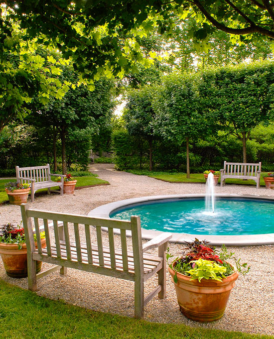 Garden Retreats and Sitting Areas | Traditional Home