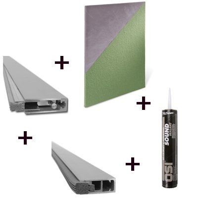 Quiet Door Residential Door Soundproofing Kit - Soundproof Cow