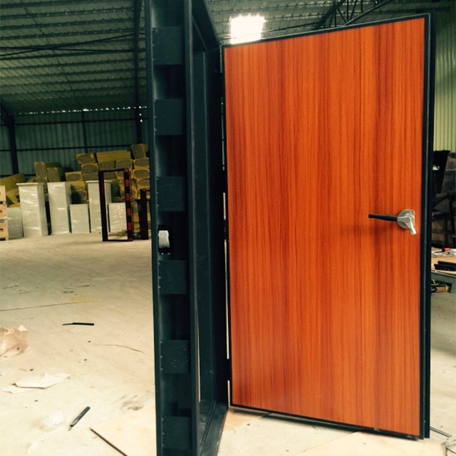 recording studio soundproof steel and wooden door-in Doors from Home